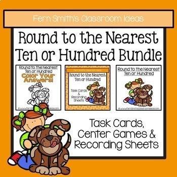 Rounding to the Nearest Ten and Hundred Bundle