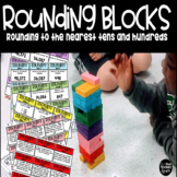 Rounding to the Nearest Tens and Hundreds Block Game