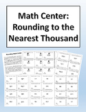 Rounding to the Nearest Thousand Math Center