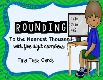 Rounding to the Nearest Thousand with Five Digit Numbers