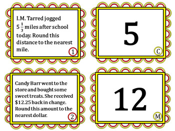 Rounding to the Nearest Whole Number or Unit - Dollar, Foot, Gallon, Mile, etc.