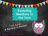 Rounding to the Tens Task Cards