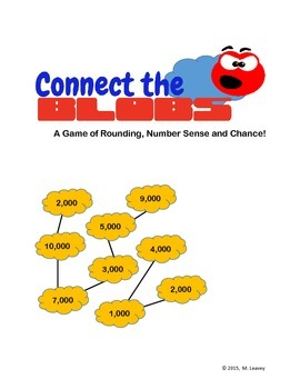Rounding to the Thousands Station and Center Game