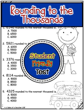 Rounding to the Thousands Test