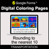 Rounding to the nearest 10 - Digital Coloring Pages | Google Forms