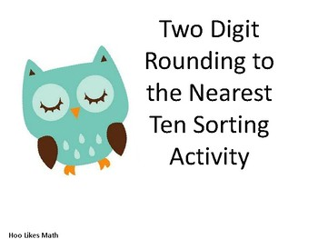 Rounding to the nearest 10 sorting