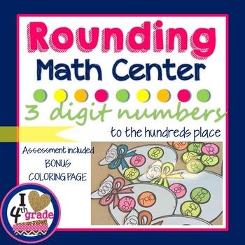 Rounding to 100 Math Center