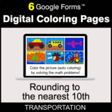 Rounding to the nearest 10th - Digital Coloring Pages | Google Forms