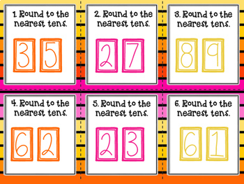 Rounding to the nearest tens Scoot