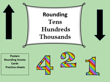 Rounding to the nearest tens,  hundreds, and thousands, Math Center