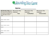 Rounding with Dice Game
