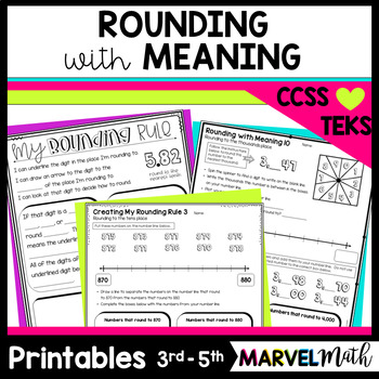 Rounding with Meaning using a Number Line