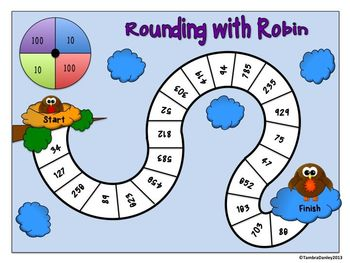 Rounding to 10s and 100s Game