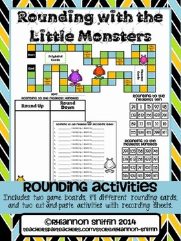 Rounding with the Little Monsters
