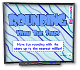 Rounding with the Stars SMART BOARD Game