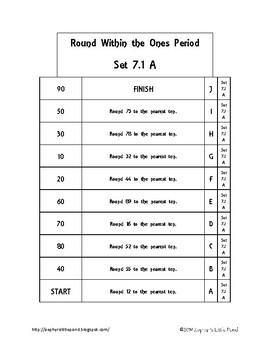 Rounding within the Ones Period -  Set 7.1 {Math Ladders}