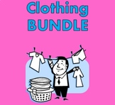 Roupa (Clothing in Portuguese) Bundle