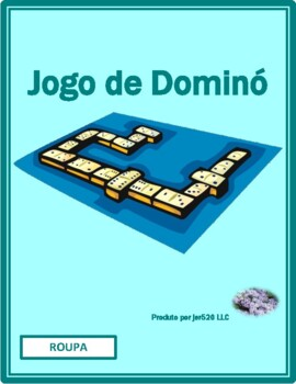 Roupa (Clothing in Portuguese) Dominoes