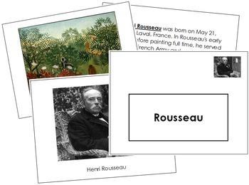 Rousseau (Henri) Art Book