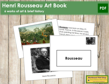 Rousseau (Henri) Art Book