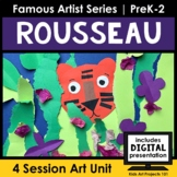 Rousseau Project-Based Art Unit for Famous Artist Series i