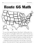 Route 66 Road-Trip Math Review