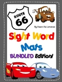 Route 66 Sight Word Mats {DOLCH BUNDLE SAVE $2!}