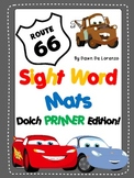 Route 66 Sight Word Mats {PRIMER EDITION!}