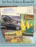 Route 66: Visual Literacy, US Geography, Culture, Music, Arts, Photography