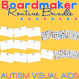 PECS Starter Kit Routine Bundle Pack - Boardmaker Visual Aids for Autism