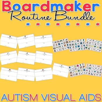 Routine Bundle Pack - Boardmaker / Autism / ADHD / ASD / P