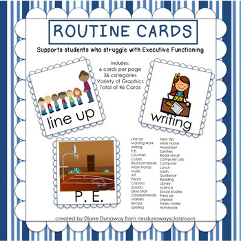 Routine Cards (46 cards)