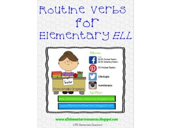 Routine Verbs Additional resources