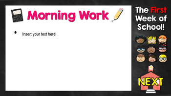 Routines and Procedures Editable PowerPoint