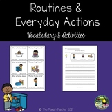 Routines and everyday actions - Unit for newcomer ESL/EL/EFL