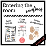Routines for entering the class - FREEBIE