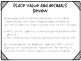 Place Value and Rounding Decimals Review