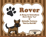 "Rover (Introducing ""La"" and Melodic Pattern ""S-L-S-M"") - SMNTBK"