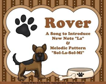 """Rover (Introducing """"La"""" and Melodic Pattern """"S-L-S-M"""") - SMNTBK"""