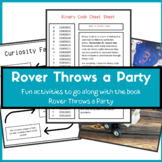 Rover Throws a Party Printables for Space Unit Study