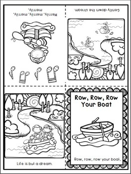 Row, Row, Row Your Boat Activity Pack