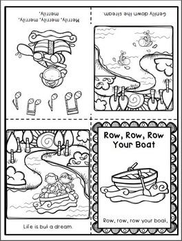 Row, Row, Row Your Boat Activity Pack