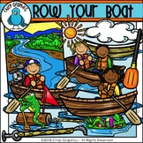 Row Your Boat Clip Art Set - Chirp Graphics