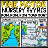 Row, Row, Row Your Boat Fine Motor Skills Activities