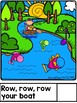 Row, Row, Row Your Boat Interactive Book