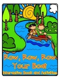 Row, Row Row Your Boat Interactive Book and Activities
