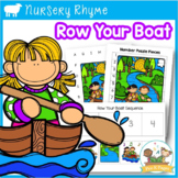 Row, Row, Row Your Boat Literacy and Math Activities