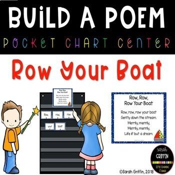 Build a Poem ~ Row Row Row Your Boat