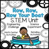 Row Row Row Your Boat STEM Nursery Rhyme Activities