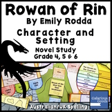 Rowan of Rin Characters and Setting - Novel Study